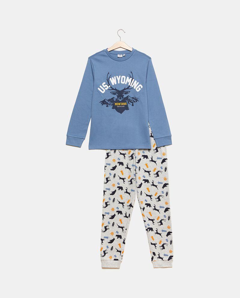 Set pigiama con maglia e pantaloni in fantasia cover