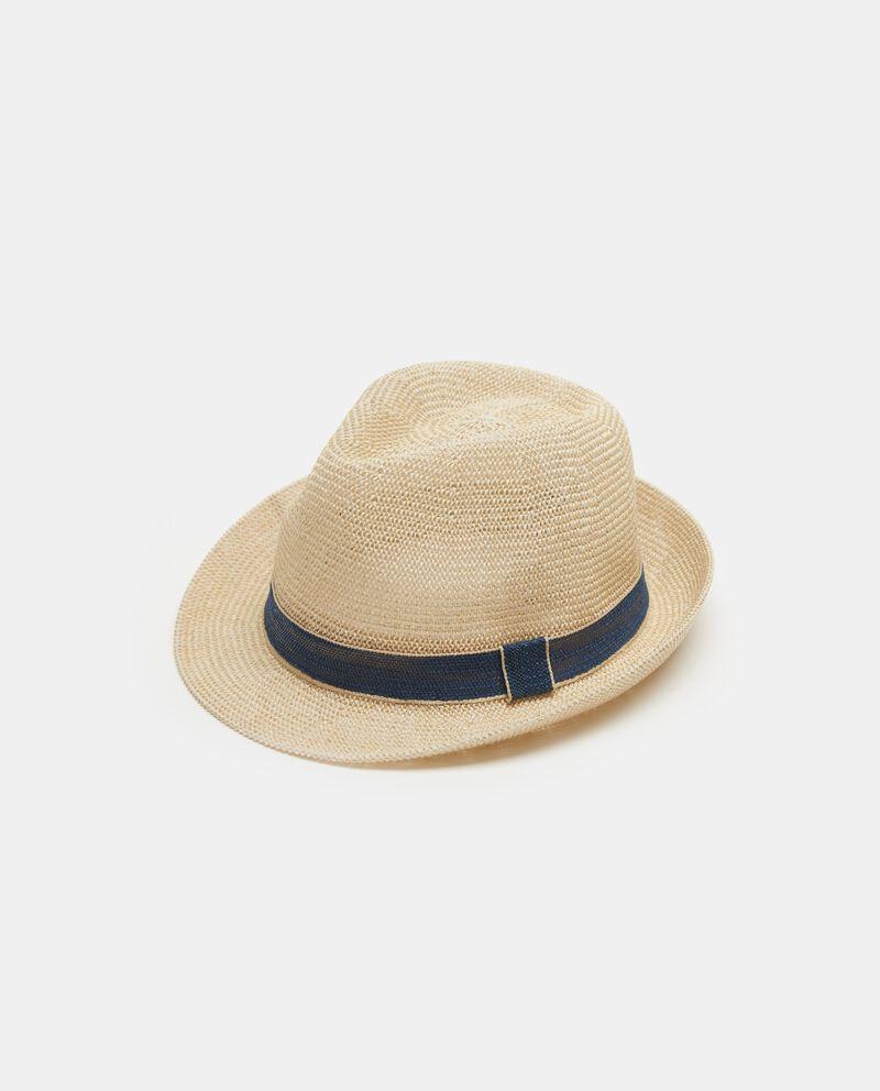 Cappello beige modello alpino uomo