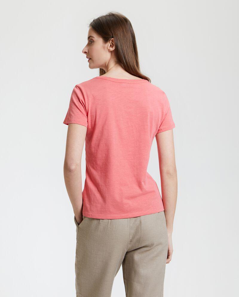 T-shirt in puro cotone single tile 2