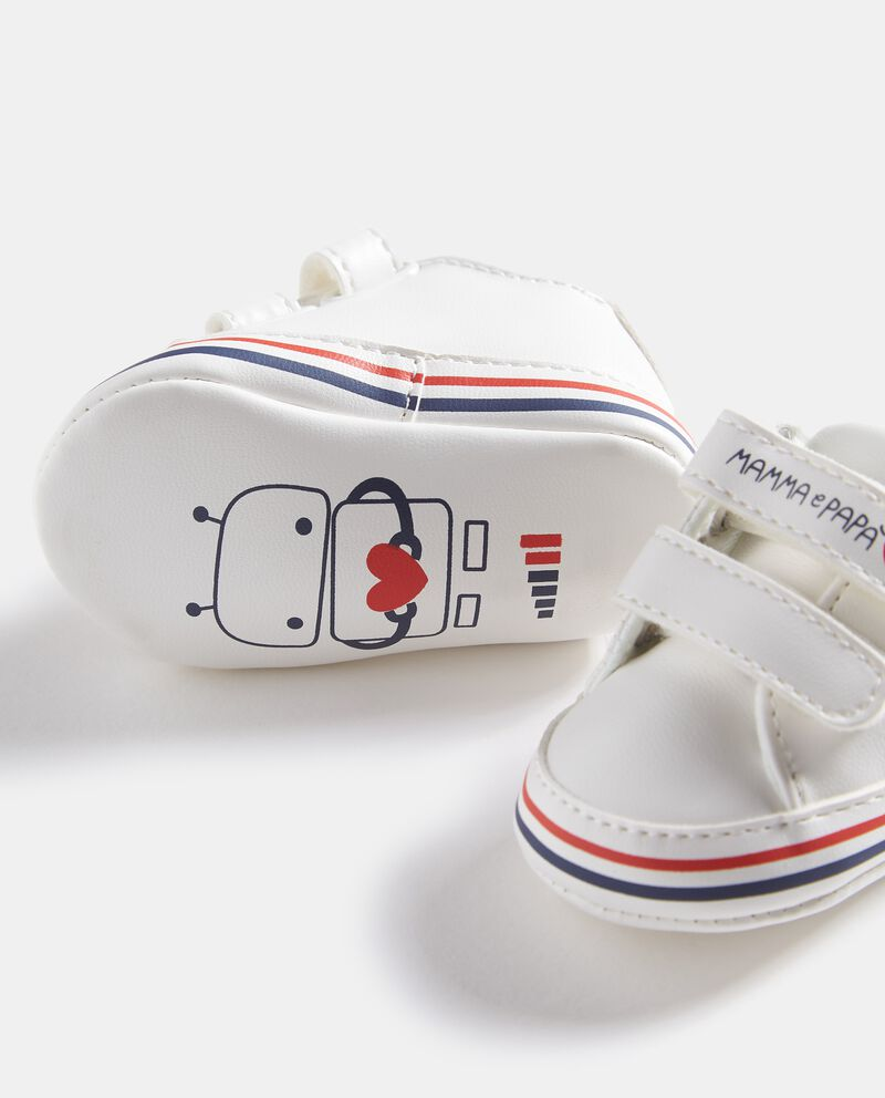 Scarpine con chiusure in velcro neonato