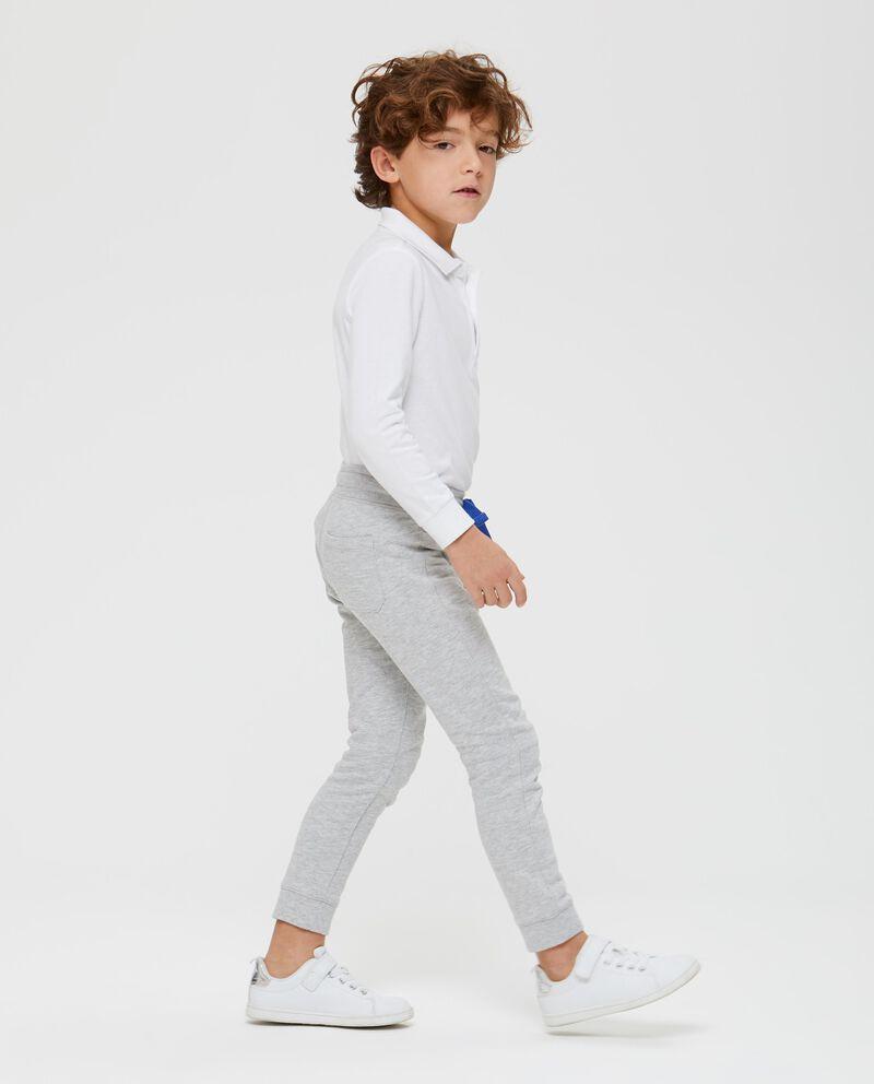 Pantaloni con tasca e stampa lettering