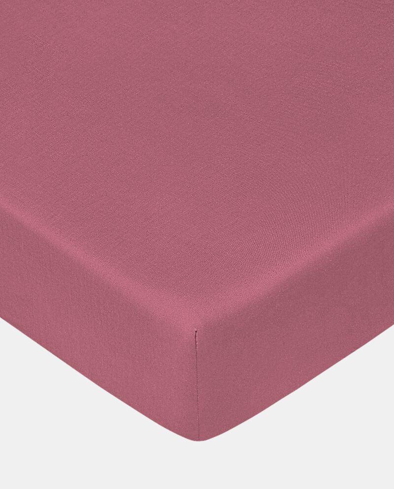 Lenzuolo con angoli singolo puro cotone
