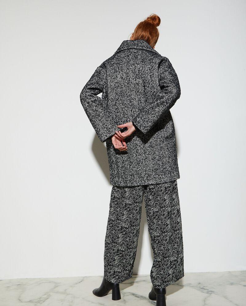 Cappottino spinato donna