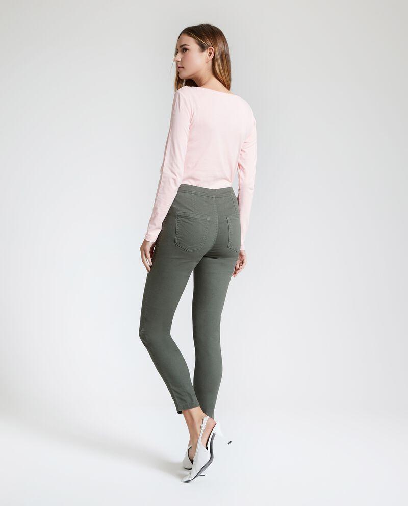 Pantaloni a vita alta donna