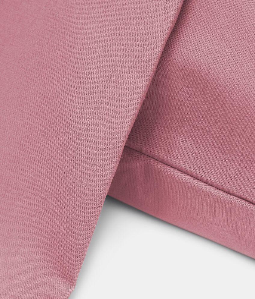 Lenzuolo matrimoniale puro cotone tinta unita double 2