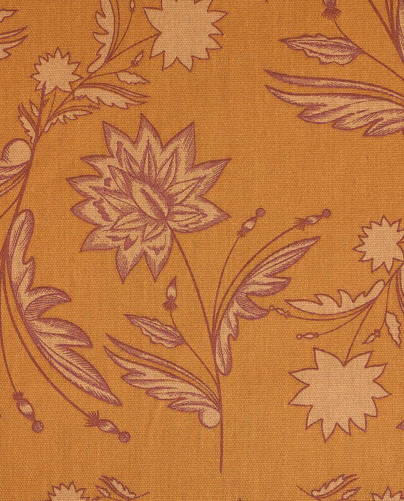 Runner con stampa floreale di puro cotone single tile 1