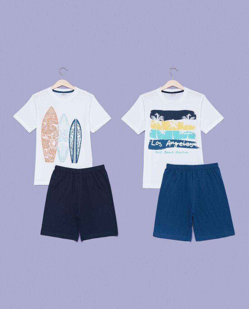 Set pigiama t-shirt e shorts bambino