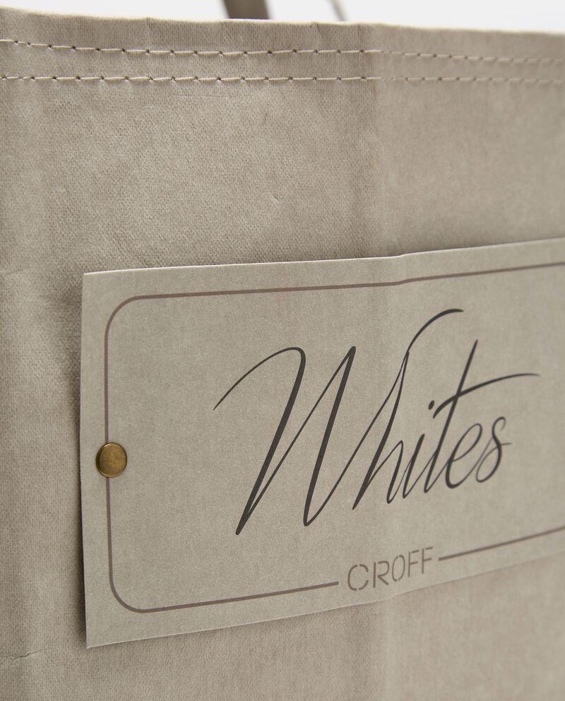Sacco portabiancheria di carta con manicidouble bordered 1