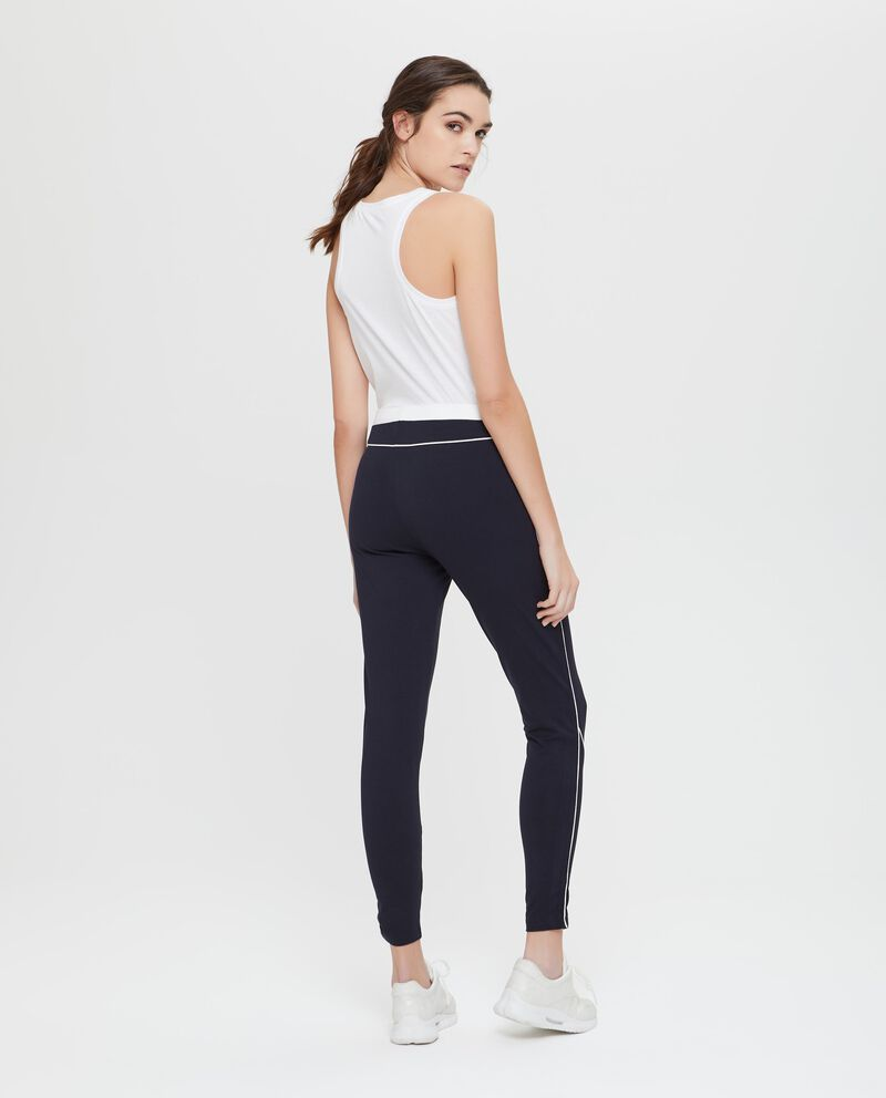 Pantaloni sportivi cotone stretch