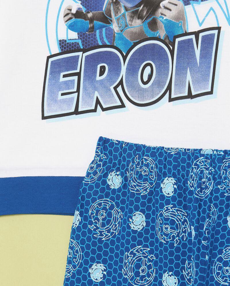 Set pigiama con maglia e pantaloni puro cotone biologico