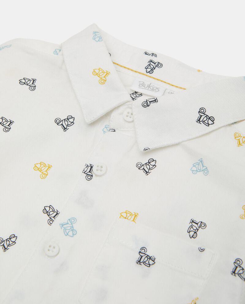 Camicia in puro cotone biologico neonato