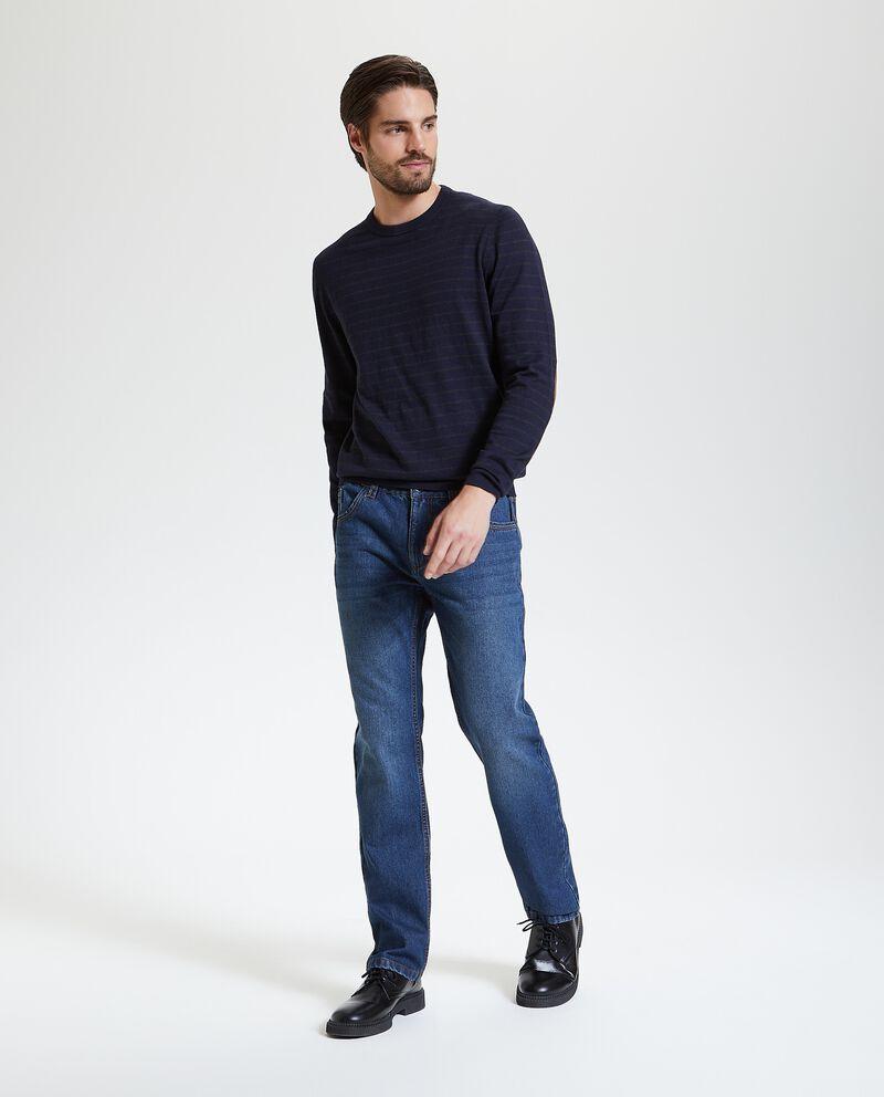 Jeans modello regular uomo