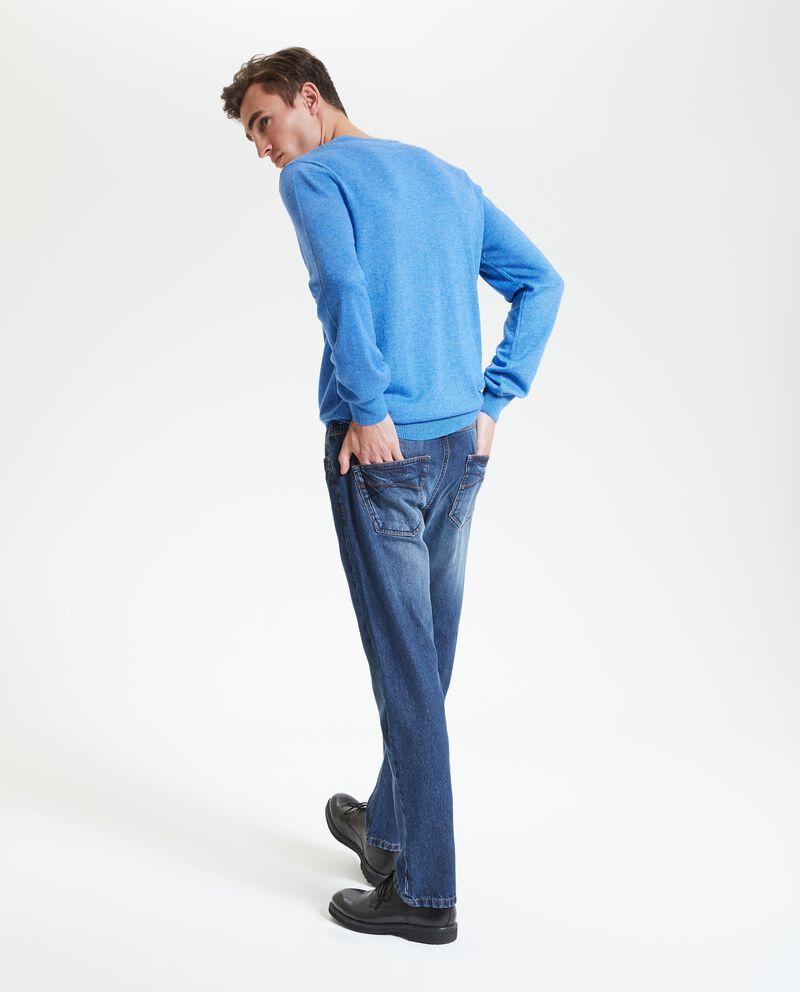 Maglione con girocollo uomo