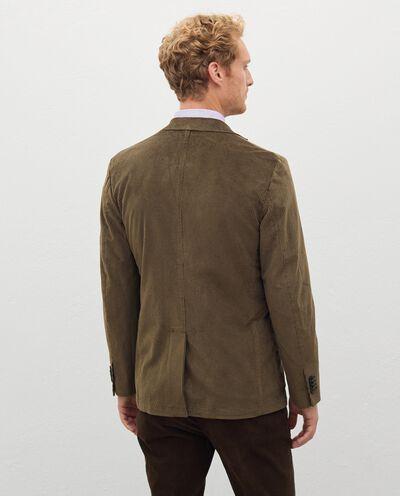 Blazer in velluto a costine uomo detail 1
