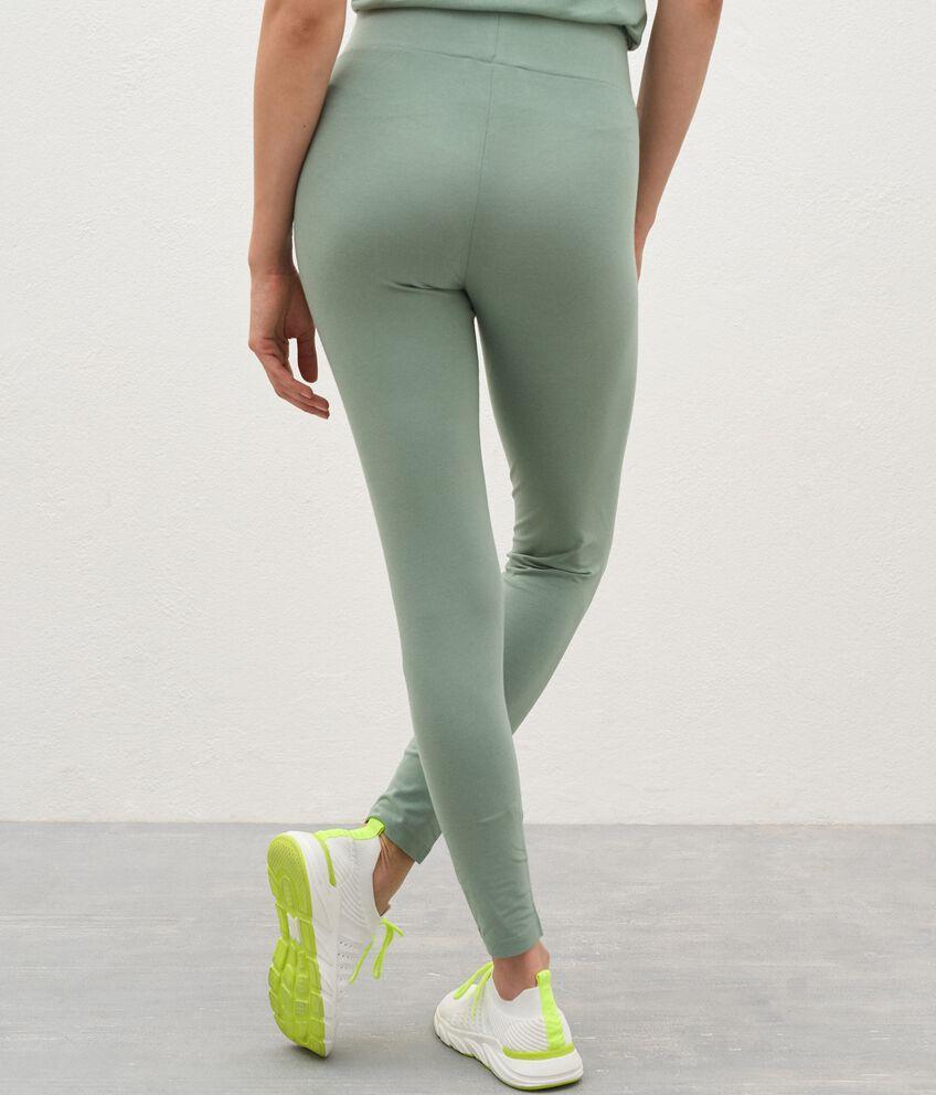 Leggings Fitness in cotone organico donna double 2