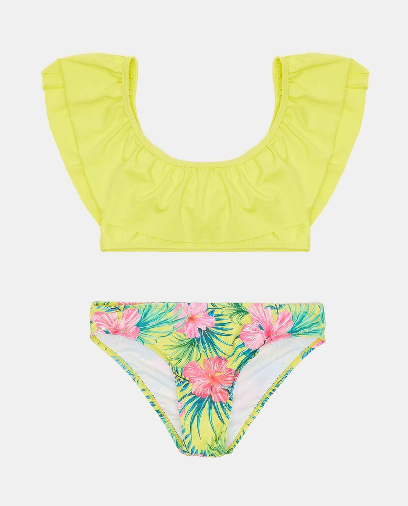 Costume bikini con scollo a barchetta ragazza