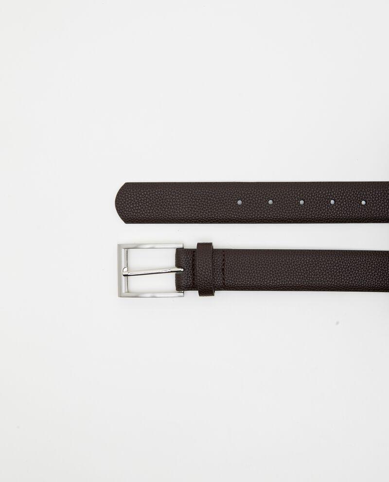 Cintura effetto pitonato uomo