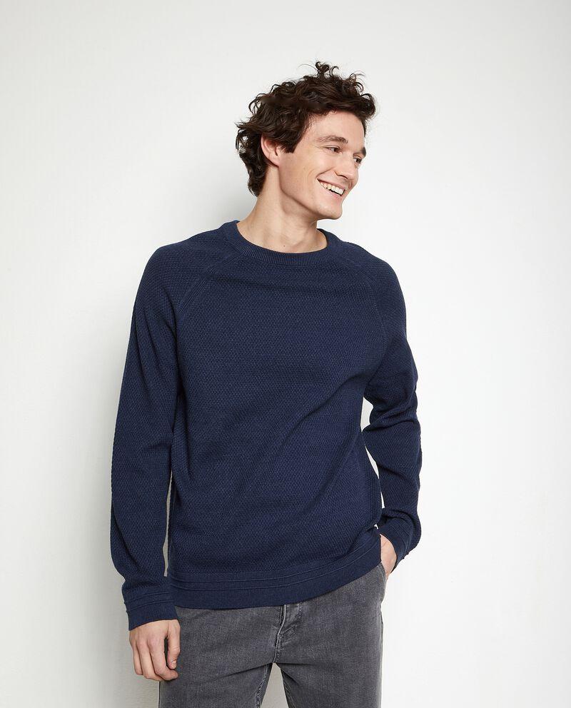 Pullover tricot tinta unita uomo