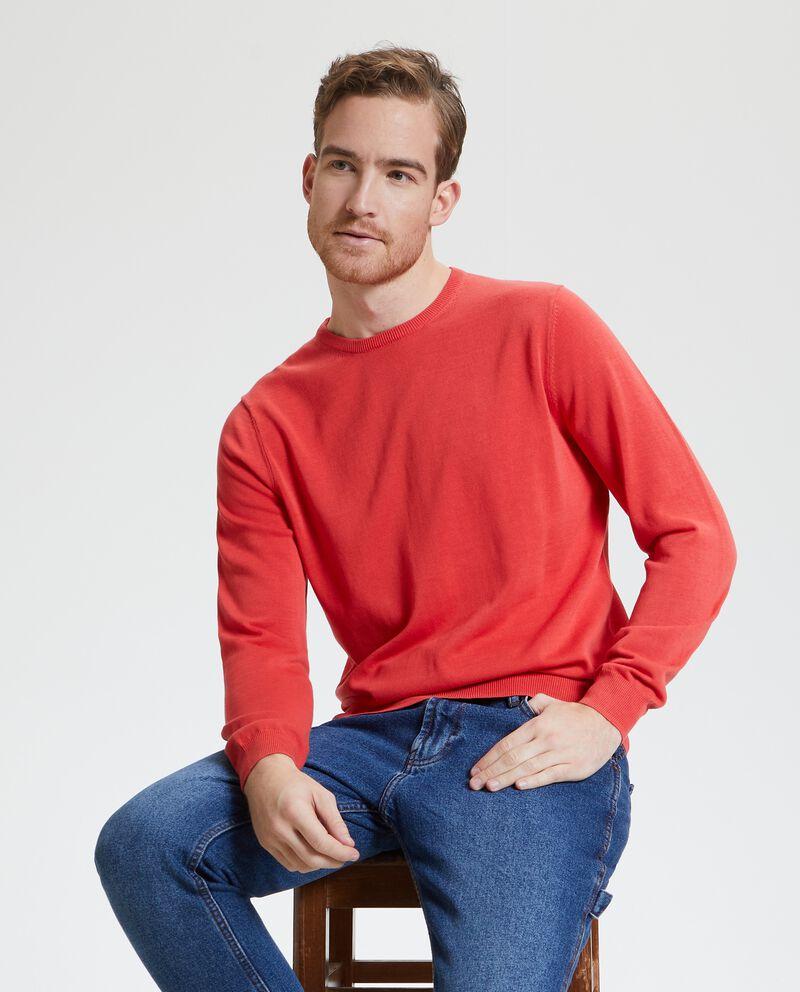 Pullover in puro cotone uomo cover