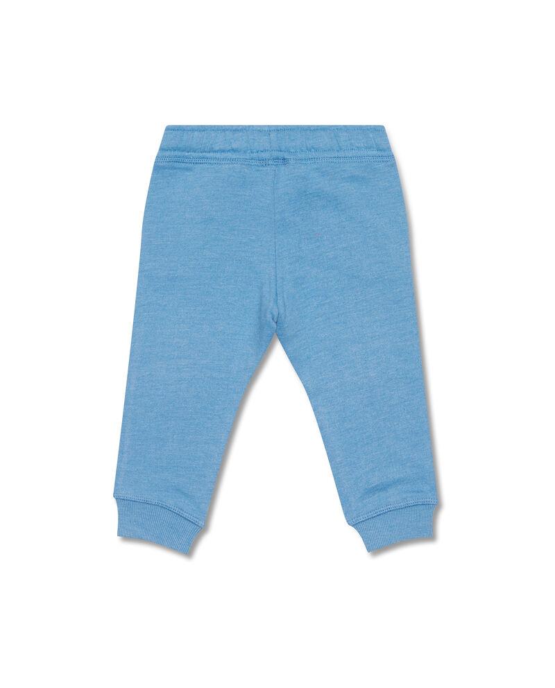 Pantaloni cotone mélange e coulisse