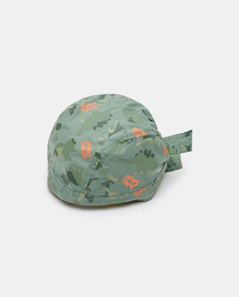 Bandana in popeline con stampa camouflage neonato cover
