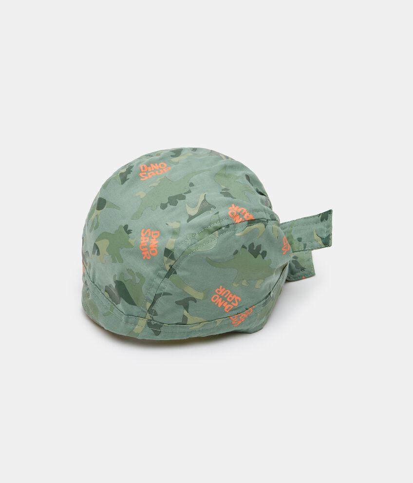 Bandana in popeline con stampa camouflage neonato double 1
