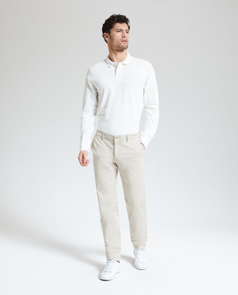 Pantaloni casual chino uomo