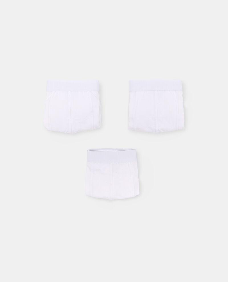 Pack con 3 boxer di cotone organico uomo cover