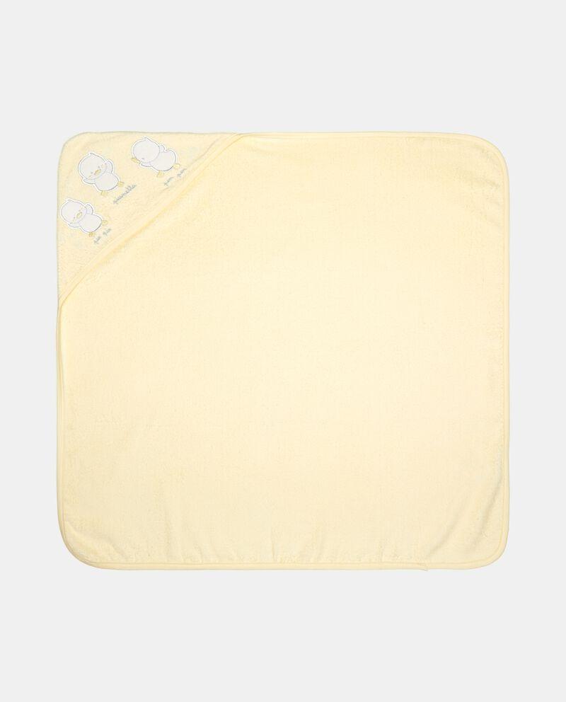 Asciugamano con angolo in puro cotone