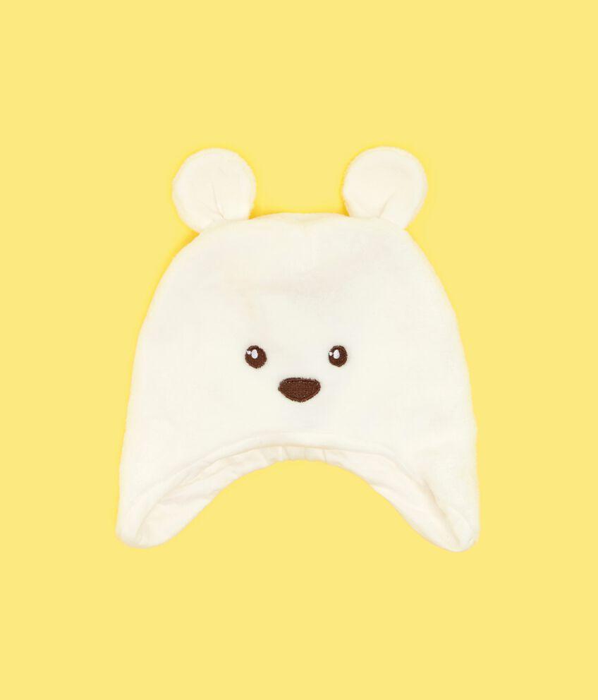 Cappellino con orecchie neonata