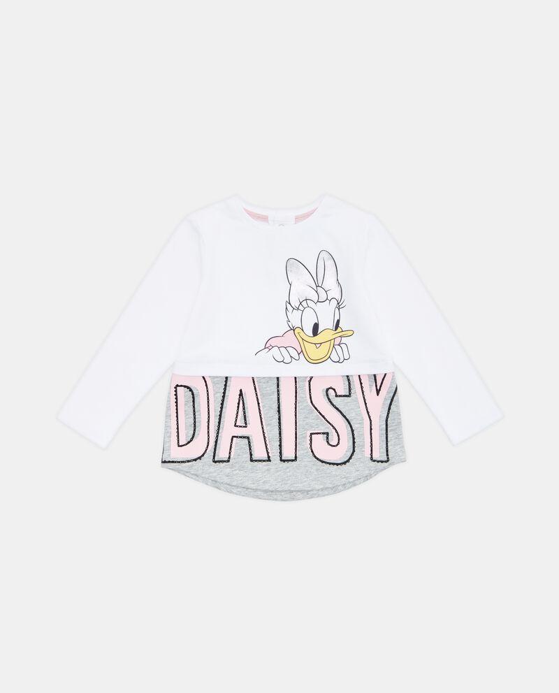 T-shirt fondo lettering neonata