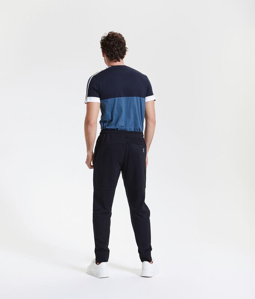 Pantaloni sportivi con lettering uomo