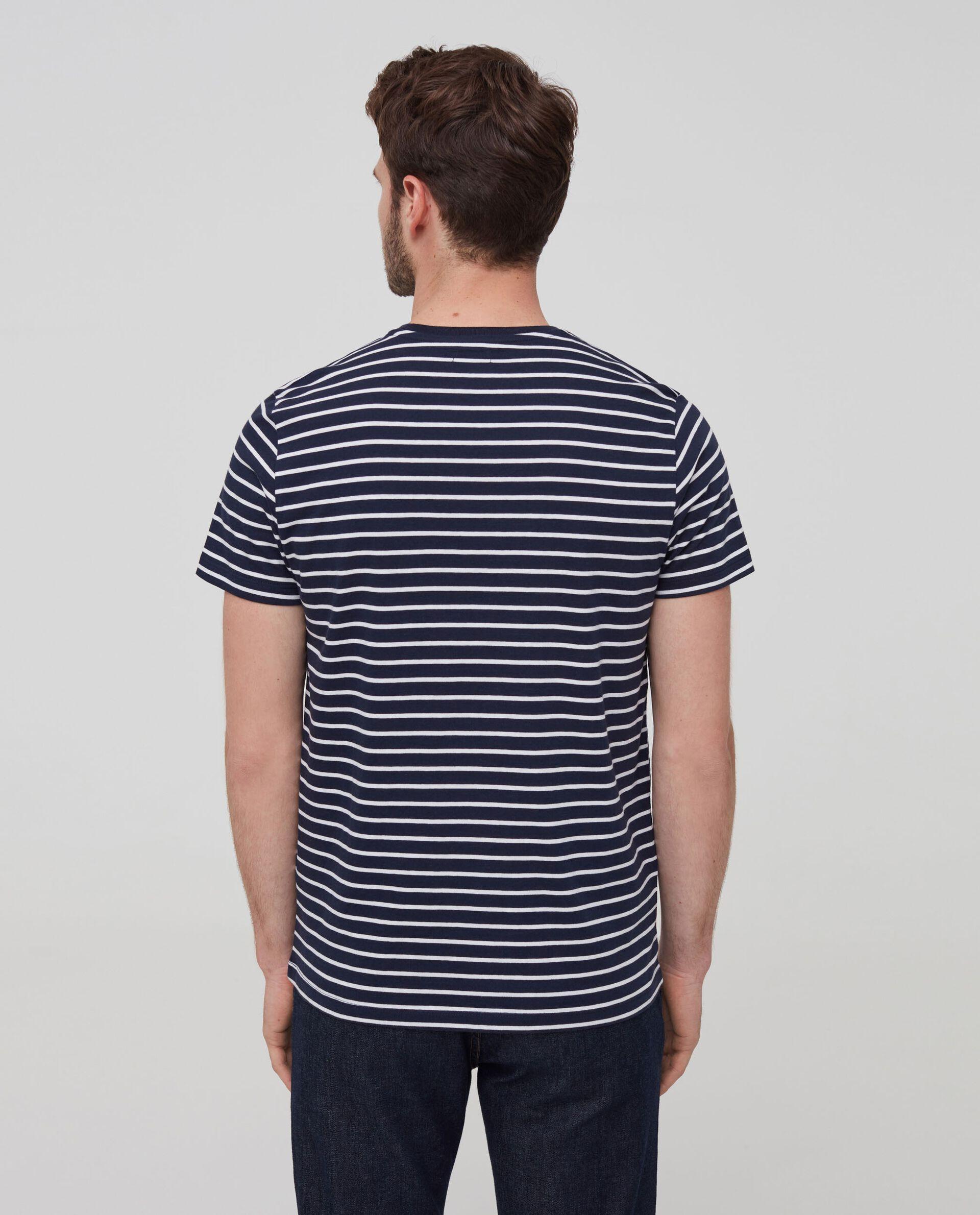 T-shirt puro cotone a righe
