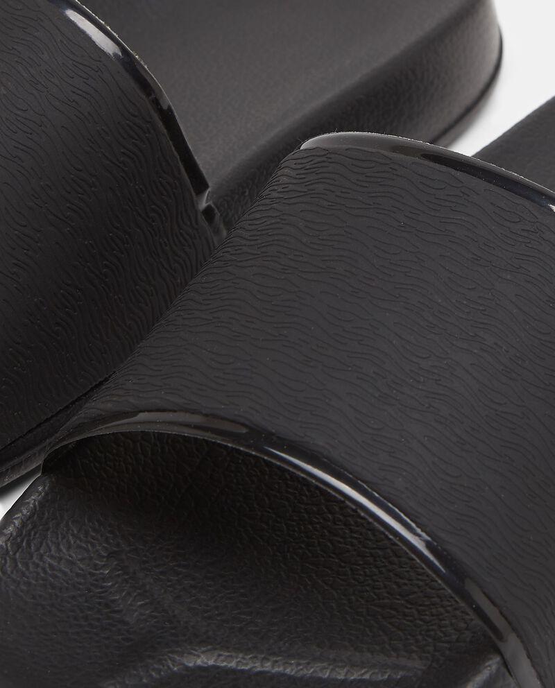 Ciabatte sportive con fascia nera