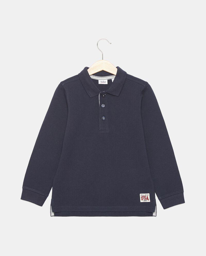 Polo in piquet di cotone bambino cover