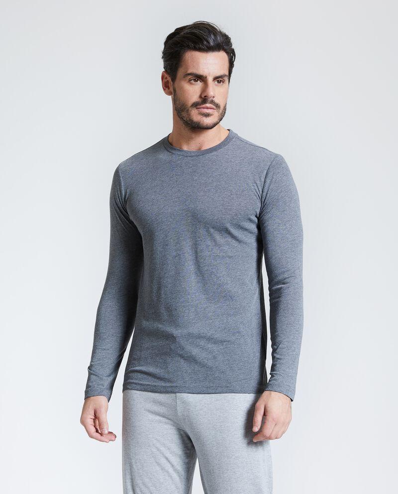 Maglia pigiama uomo maniche lunghe uomo