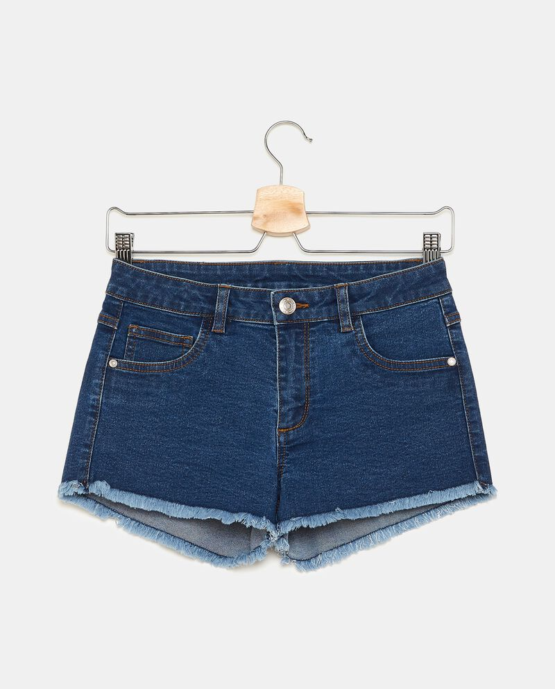 Shorts sfrangiati bambina
