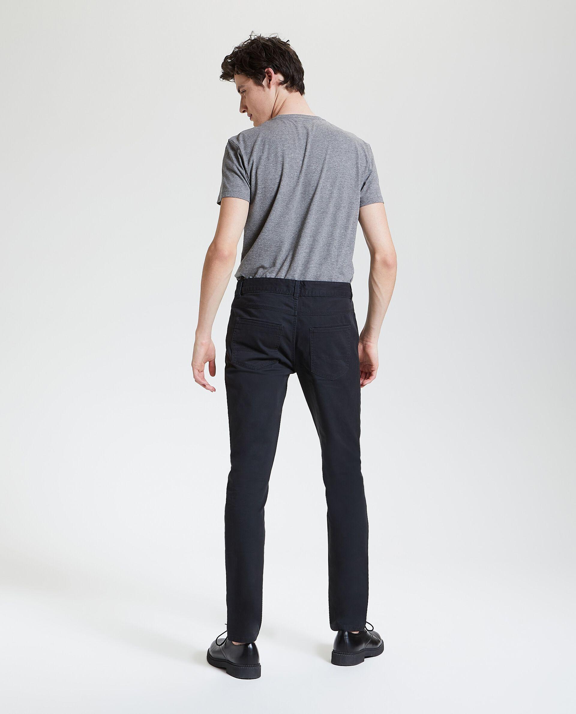 Pantaloni puro cotone con cinque tasche uomo