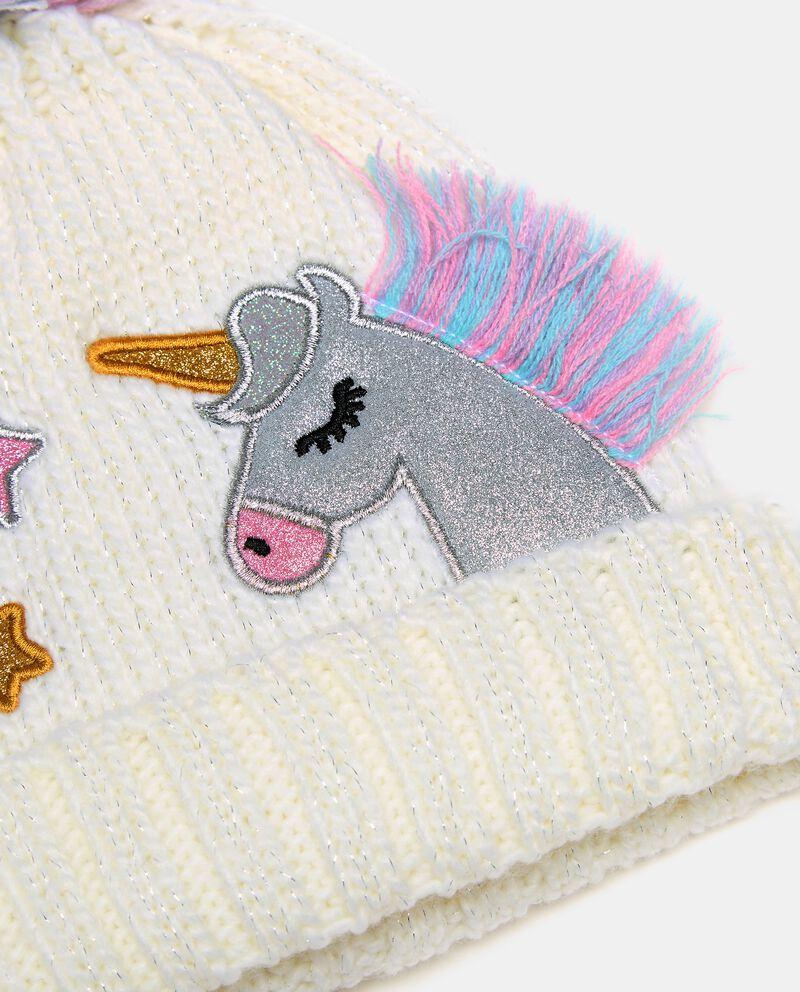 Berretto tricot con pon pon single tile 1