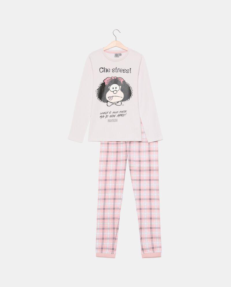 Set pigiama in puro cotone ragazza Mini Me Mafalda cover