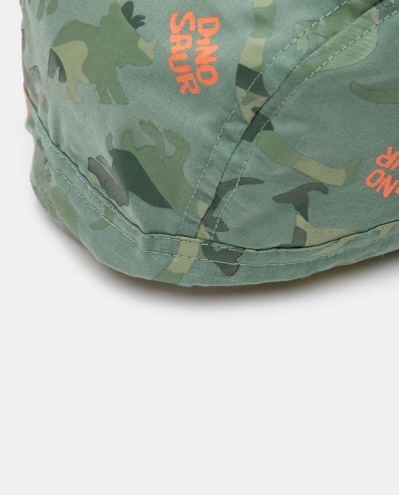 Bandana in popeline con stampa camouflage neonato single tile 1