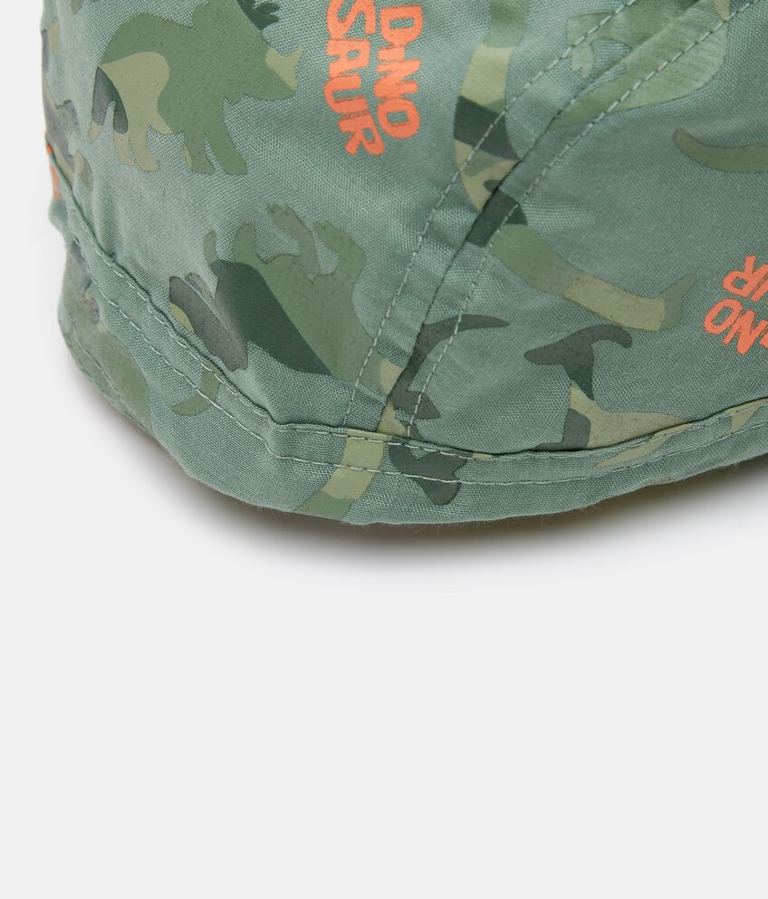 Bandana in popeline con stampa camouflage neonato double 2