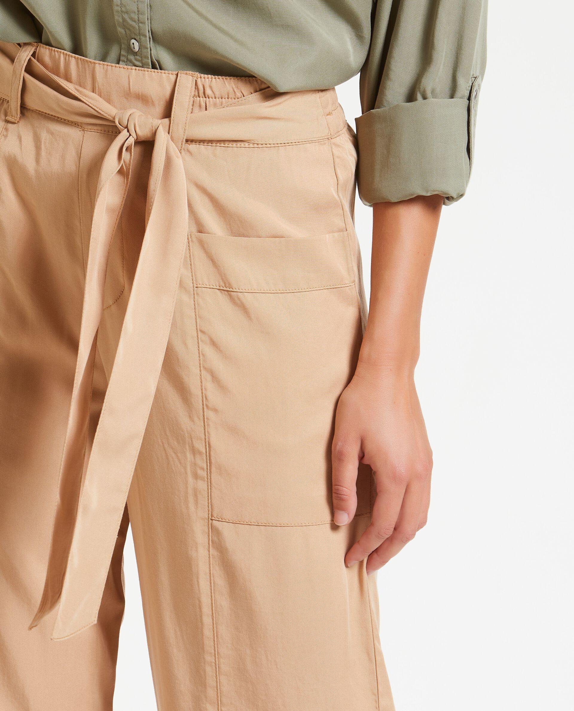 Pantaloni donna freschi in puro Lyocell naturale