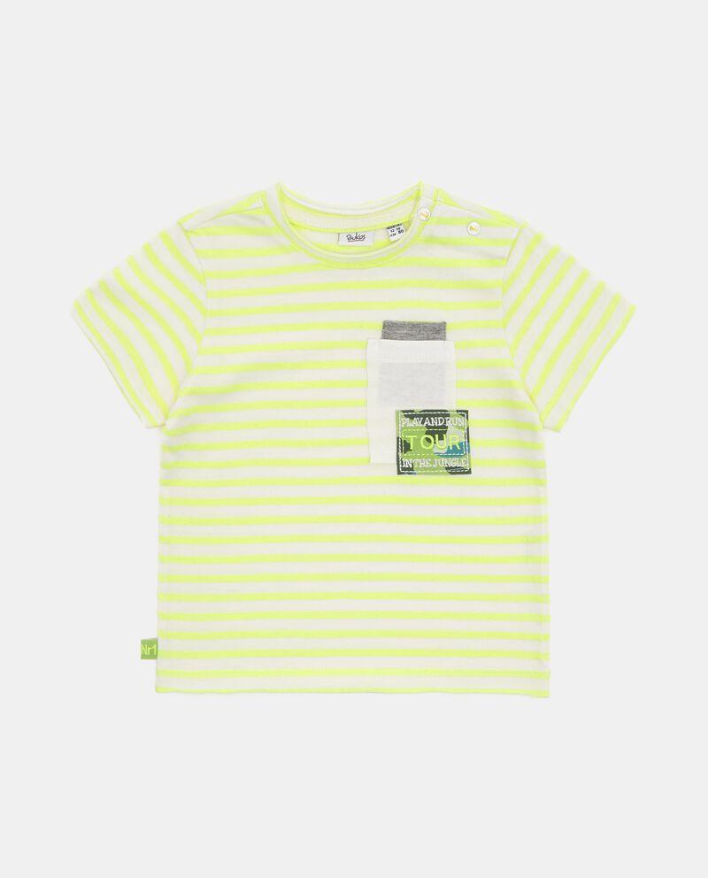 T-shirt con motivo a righe neonato
