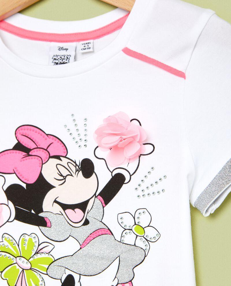 T-shirt con glitter