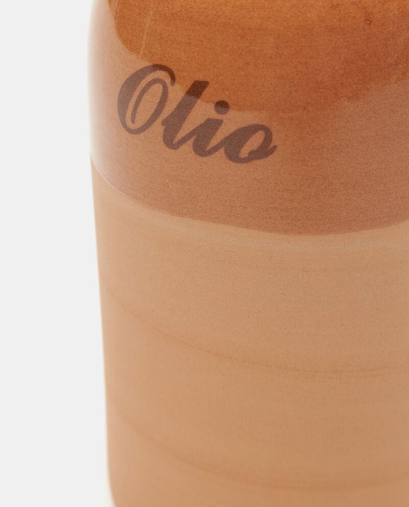 Bottiglia per olio in terracotta