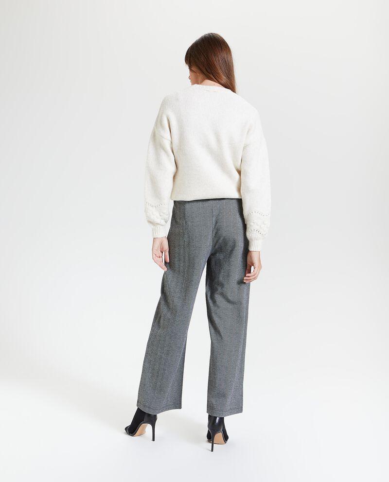 Pantaloni a palazzo spinati donna