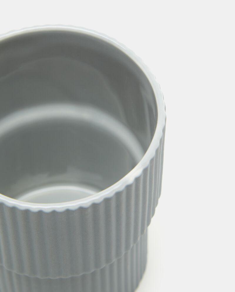 Porta spazzolino in ceramica single tile 1