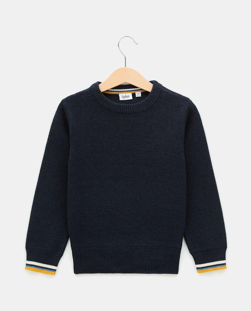 Girocollo di tricot in cotone bambino cover