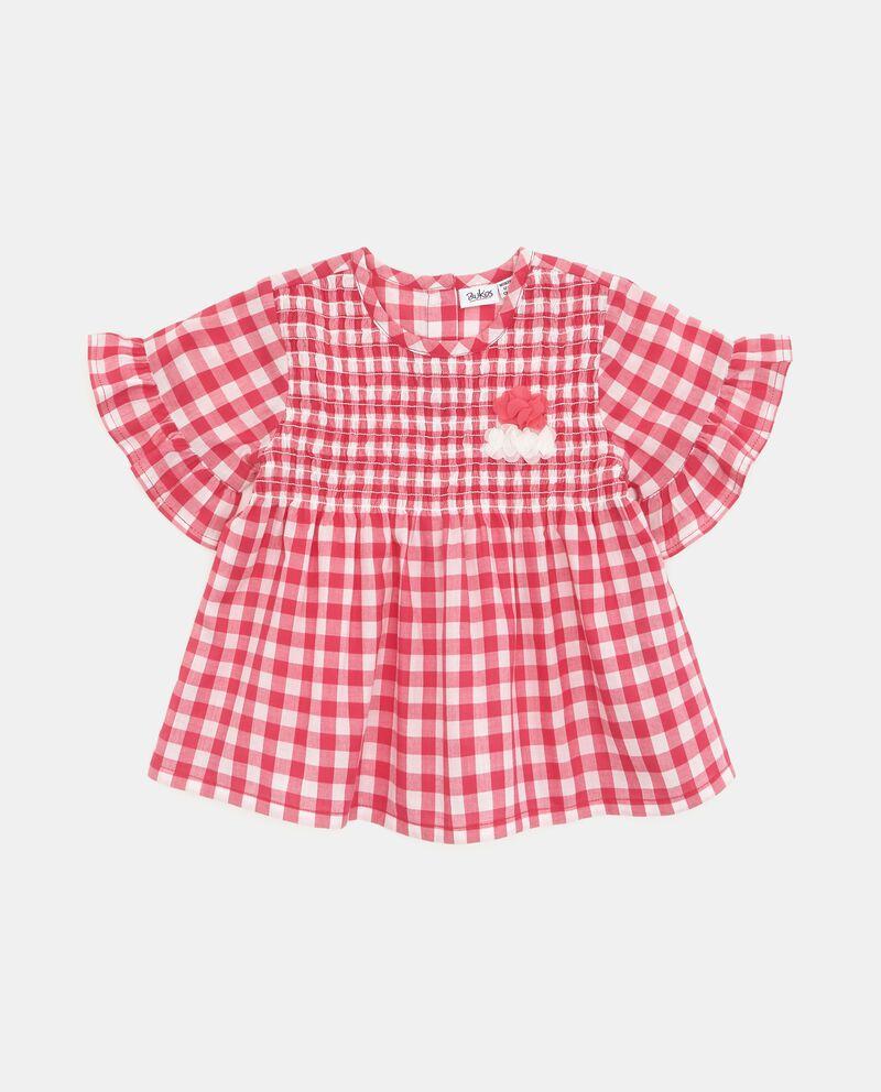 Camicia a quadri neonata